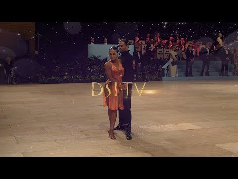 Nino and Andra Final Jive Professional Latin UK Open 2019 DSI TV