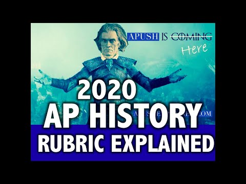 2020 AP History Exam & Rubric Explained