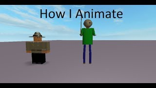 How To Animate For Roblox | [New Outro] (2K Sub Special)