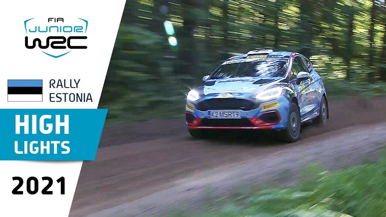 FIA Junior WRC - Saturday Highlights - Rally Estonia 2021