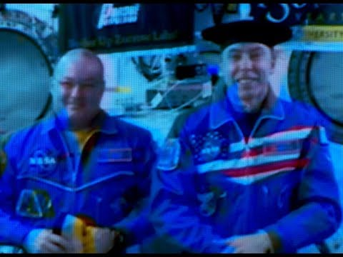 Purdue NOW commencement - Astronaut Drew Feustel receives honorary doctorate while on Space Station