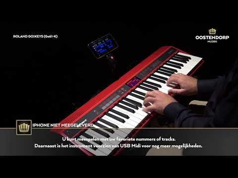Roland Go:Keys GO-61K | Sounddemo