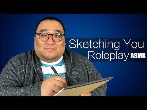 [ASMR] Sketching You Roleplay   MattyTingles