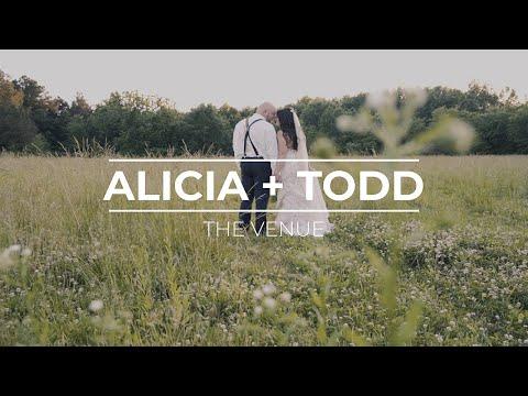 Alicia + Todd // The Venue