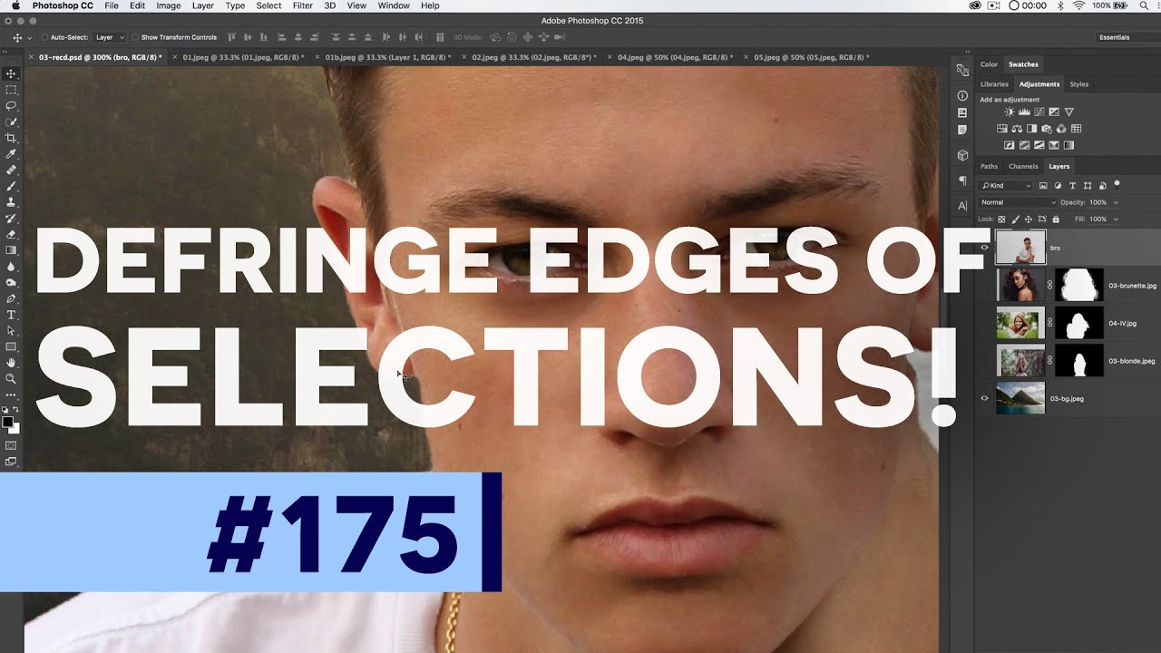 How to Defringe in Photoshop (Perfect Selection Edges & Matte Color)