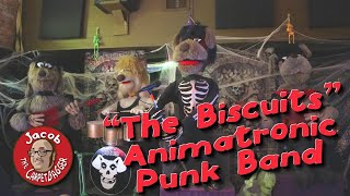 The Biscuits:  Animatronic Punk Band