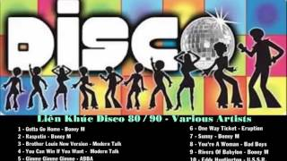 Liên Khúc Disco 80/90 - Various Artists