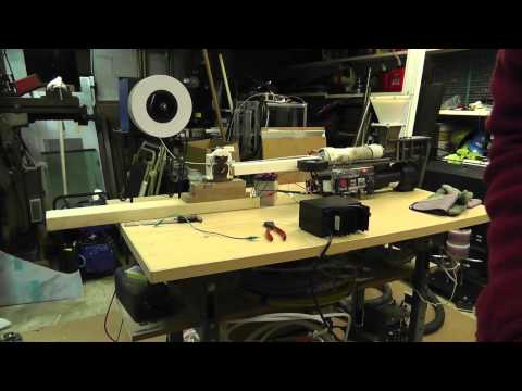 #11 ~Russ's Filament Extruder: Cleaning For New Plastic, New Plastic Trial, Auto Spooler Test