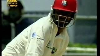 Brian Lara 122 vs Australia 2nd test 2003 - RARE FOOTAGE ON YOUTUBE!
