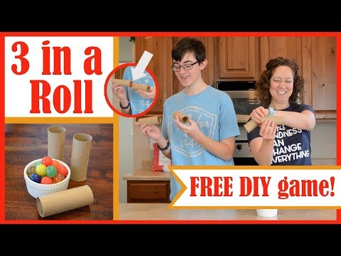 "FREE Game DIY: ""3 in a Roll"""