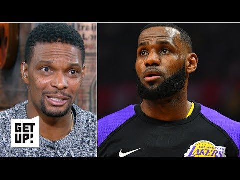 LeBron knew the situation when he joined the Lakers – Chris Bosh   Get Up!