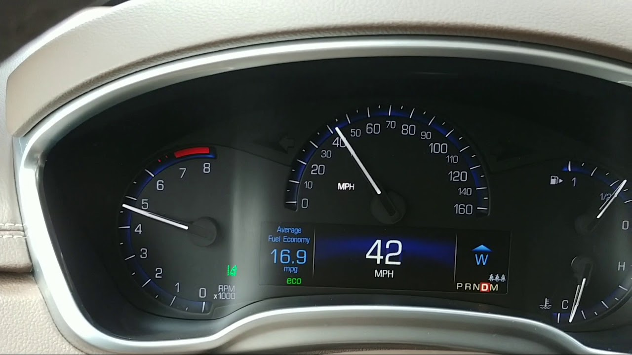 2015 Cadillac SRX Shift Flare
