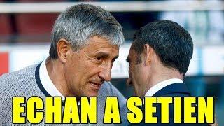 Setien Gana En Madrid 0 2 Con El Betis Y Se Va | BÉticos Provocan Su Salida | Caso Para Reflexionar