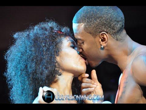 Kissing Trey Trey Songz Kissing Fans