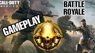 COD Mobile Gameplay India Launch | Battle Royale | Call of Duty: Mobile