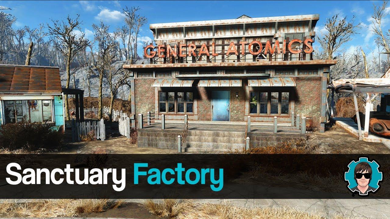 Fallout 4 sanctuary factory youtube fallout 4 sanctuary factory malvernweather Choice Image