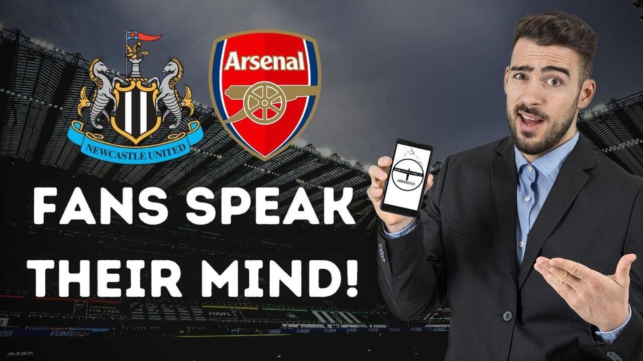 Fan Reaction Show   Newcastle United - Arsenal