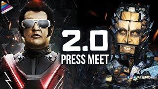 2 0 movie press meet rajinikanth akshay kumar ar rahman 2 point 0 telugu filmnagar