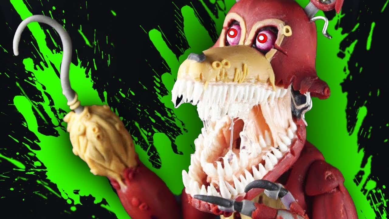 Twisted Foxy  Ud83d Ude31  Full Body     Tutorial Polymer Clay Cold