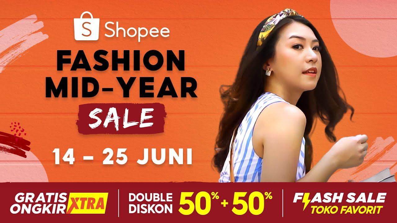 Tunjukan Gaya Terbaikmu Hanya di Shopee Fashion Mid-Year Sale (14-25 Juni)