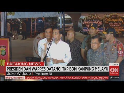 LIVE Breaking News! Presiden Jokowi & Wapres Datangi TKP Bom Kampung Melayu