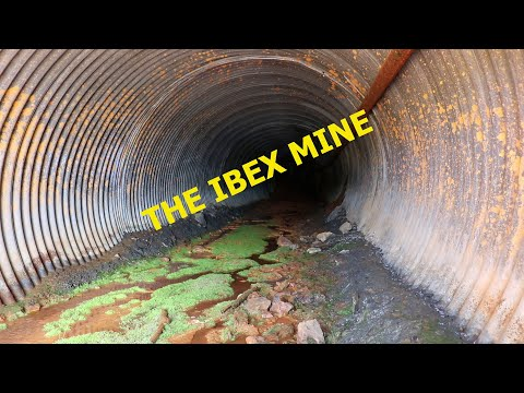 The Abandoned Ibex Gold And Silver Mine