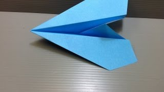 Paper Airplane Origami - Traditional Origami Jet Plane Ver. 2