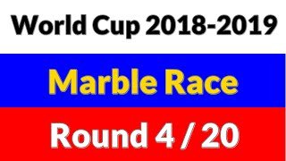 World Cup 2018 Marble Race - Round 4