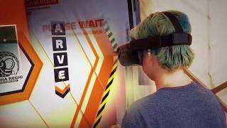 VR experience at the Eden Project