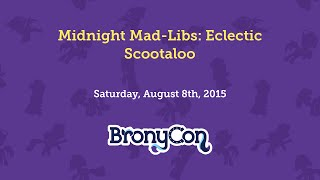 Midnight Mad-Libs: Eclectic Scootaloo