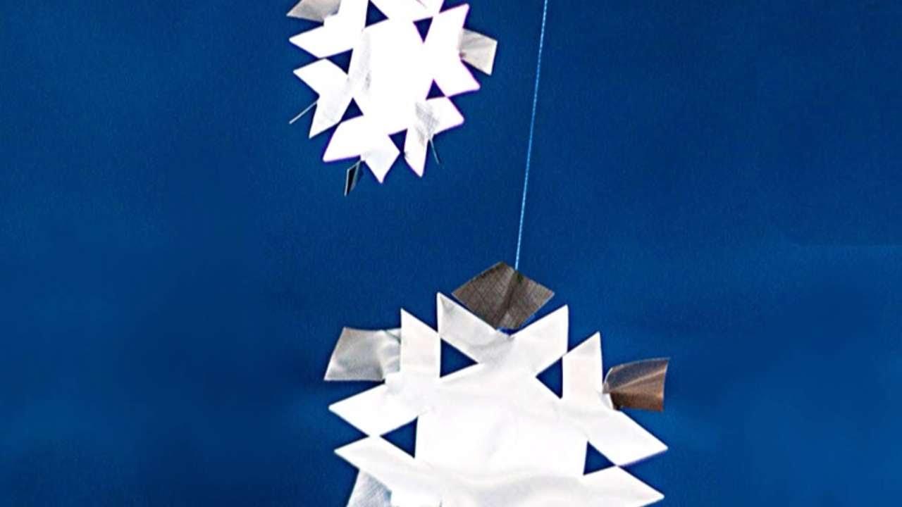 Estremamente Crea dei Semplici Fiocchi di Neve in Alluminio - Fai da Te  BJ18