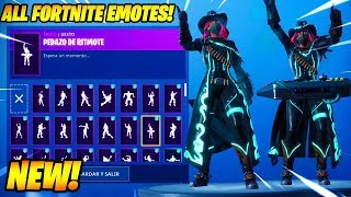 """Calamity"" [MAX Stage 5] SKIN SHOWCASE CON 80 FORTNITE DANCES & EMOTES..!"