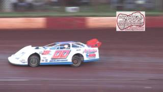 Dixie Speedway 8/15/15 Crate Latemodel Heats 1&2!