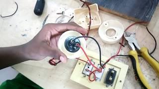 সিরিজ টেস্ট ল্যাম্প  তৈরি করা শিখুন। how to make series test lamp. what is series test lamp