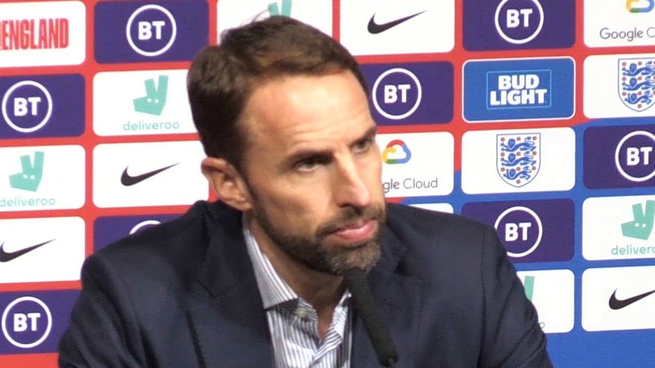 Gareth Southgate Full Press Conference Following England Squad Announcement  - Euro 2020 Qualifiers - YouTube