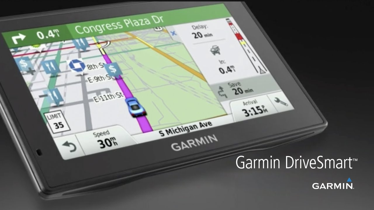 Certified Refurbished Garmin DriveSmart 50 LMT-HD Navigation System