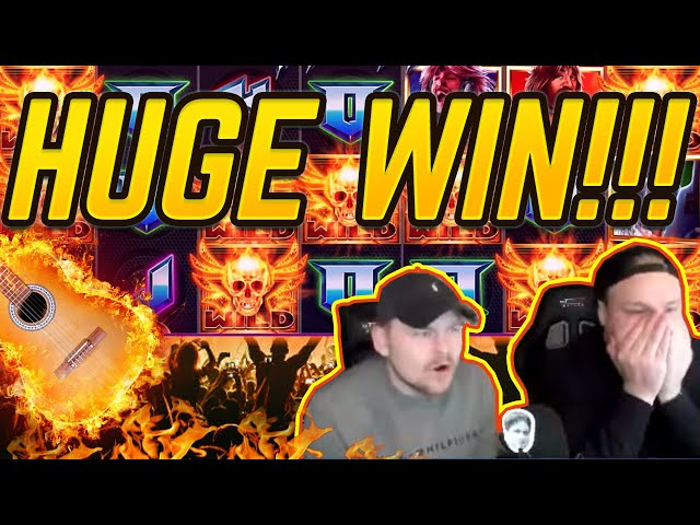 HUGE WIN!!! Spinal Tap BIG WIN!! Gambling on Casino Games from CasinoDaddy
