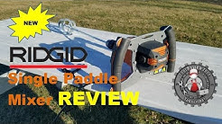 RIDGID Single Paddle Mud Mixer Review (R7135)