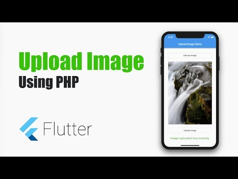 Flutter Tutorial – Upload Image in Flutter Using PHP – MOBILE
