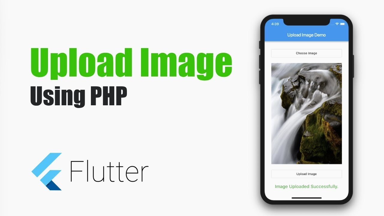 Flutter Tutorial – Upload Image in Flutter Using PHP