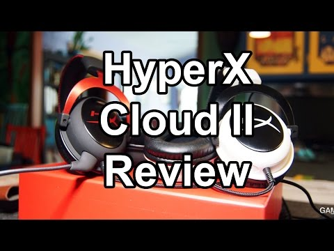HyperX Cloud II Gaming Headset Review & Quality
