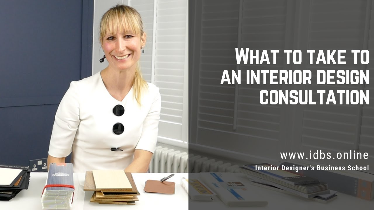 What To Take To An Interior Design Consultation Online Interior Design School Youtube