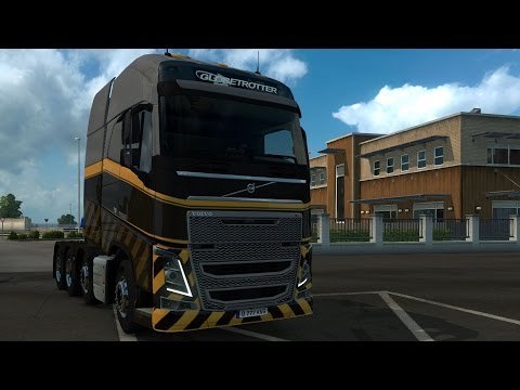 Volvo FH 2012 8x4 Heavy Cargo - Euro Truck Simulator 2 - Test Drive Gameplay (HD) [1080p60FPS]