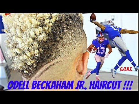 BARBER TUTORIAL ODELL BECKHAM JR HAIRCUT HD YouTube - Odell beckham hairstyle back