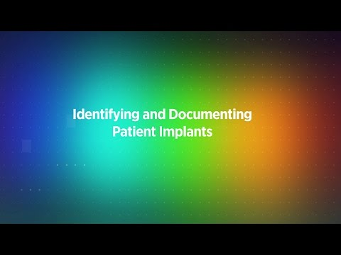 Identifying and Documenting Patient Implants | FDB Prizm™