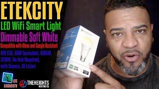 #Etekcity LED WiFi Smart Light Blub💡 : LGTV Review
