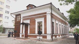 UTV. В Уфе открыли дом Бушмариных. Его сначала снесли, а спустя 12 лет воссоздали