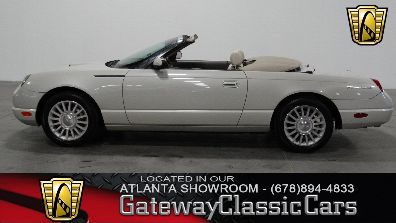 2005 ford thunderbird 50th anniversary gateway classic cars of atlanta 189