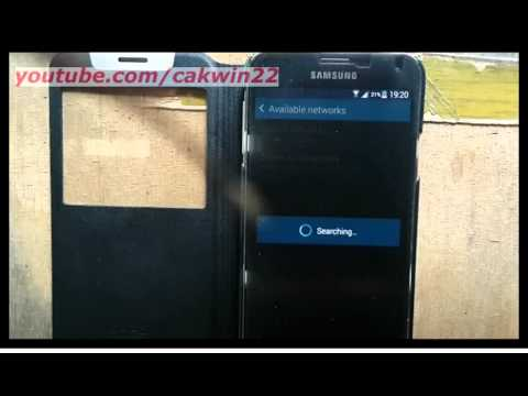 Samsung Galaxy S5 : How to change network operators (Android Phone)