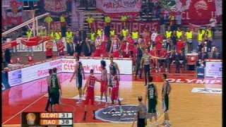 Α1 Ανδρών Ολυμπιακός - Παναθηναϊκός 69-76 διακοπή PlayOffs game4